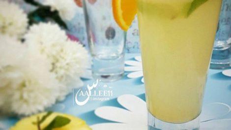 طريقة عمل عصير الليمون و البرتقال
