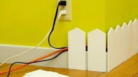 كيفية اخفاء و ترتيب الاسلاك الكهربائية في منزلك