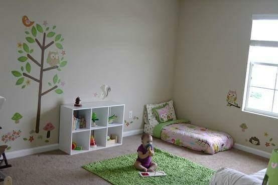 كيف تصممي غرفة طفلك في منهج منتسوري
