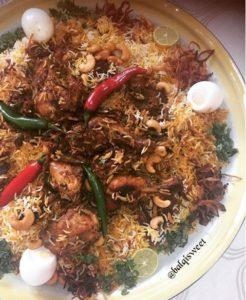 طريقة عمل برياني حيدر اباد على طريقة المطاعم الهندية بالدجاج