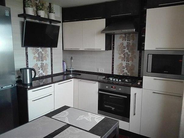 صور مطبخ أبيض مودرن صغير المساحة بيتى مملكتى