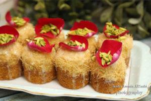 كيكة بالشعيرية الباكستانية و الجبن الكيري